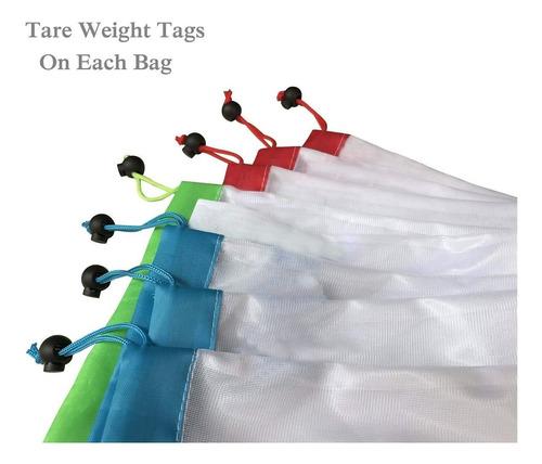 bolsas reutilizables de malla para compras