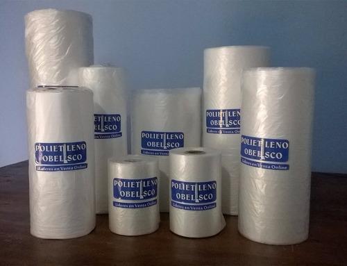 bolsas rollo para comercio 12x20 - 1000 unidades