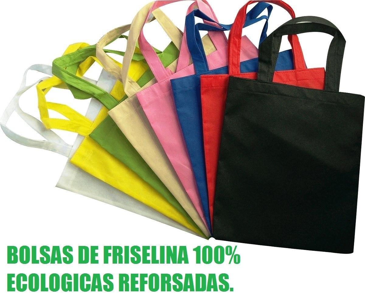 bf04b180c Bolsas Tela Friselina X 100 Unidades Varios Tamaños Colores ...
