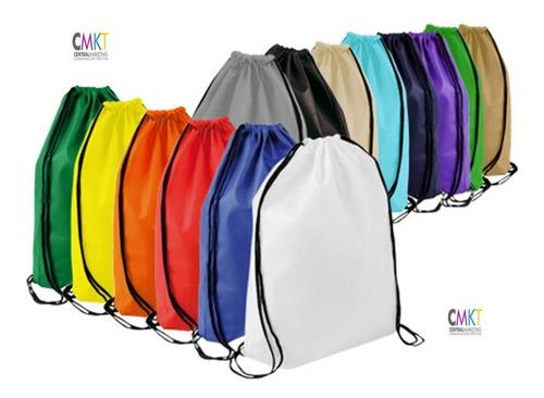 bolsas tipo mochila e8 34 x 44 cms (30 unid)