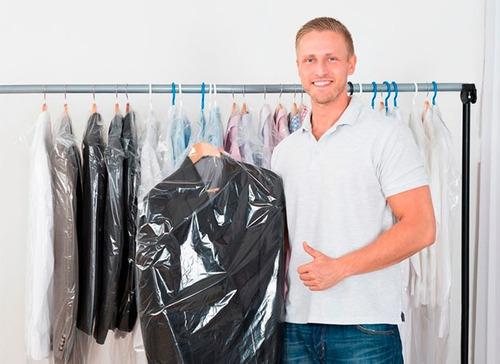 bolsas transparentes 65x70 | tintorería o pedicure |