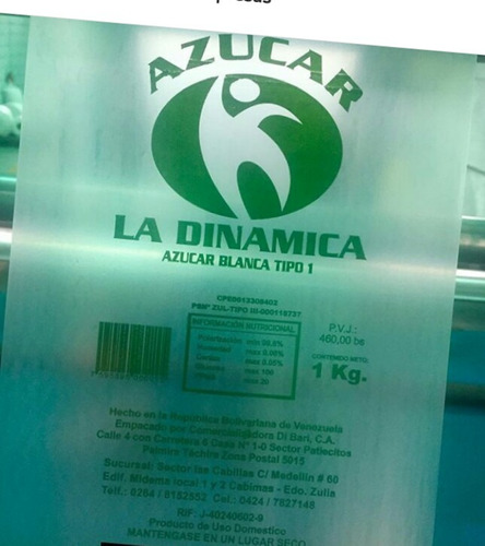 bolsas transparentes con publicidad