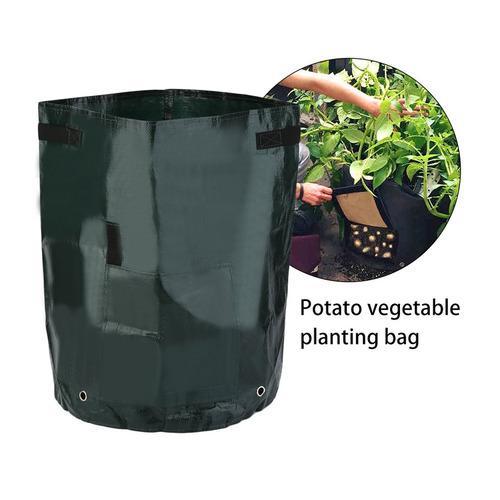 bolsas woven tecido cultivo de batata plantio jarras jardim