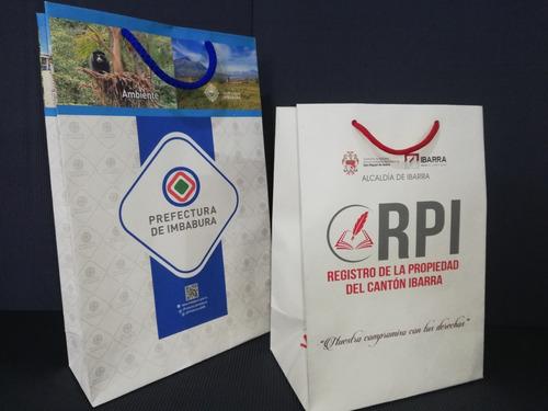 bolsas y fundas de papel personalizadas con tu logo o marca