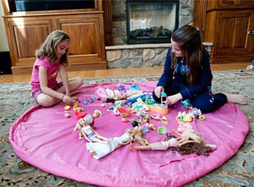 bolsas/alfombra para guardar juguetes, zapatos,...etc