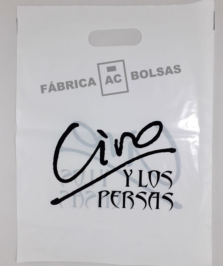 db6dd452c Bolsascon Con Logo En Polietileno 35x45 - $ 11,00 en Mercado Libre