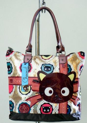 bolsas/mochila tote chococat by hello kitty originales