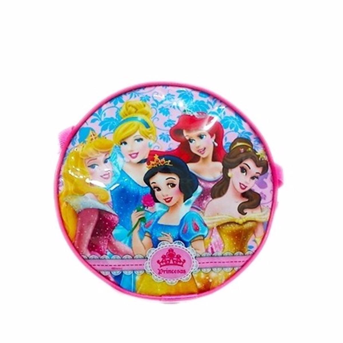 Bolsinha infantil princesas disney redonda r 5 90 em for Muebles de princesas disney