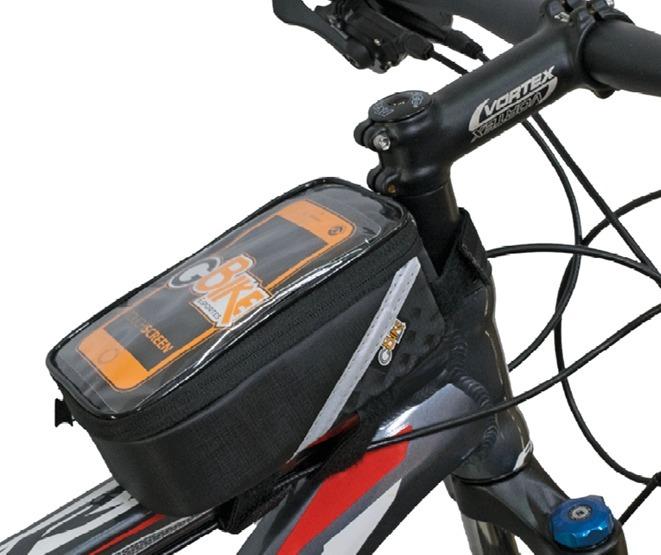 Bolsinha Porta Celular E Objetos Suporte Quadro Bike Bici - R  76 0b41e8143a1