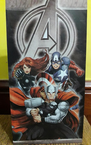 bolsita golosina cumple avengers capitan america hulk x 10un
