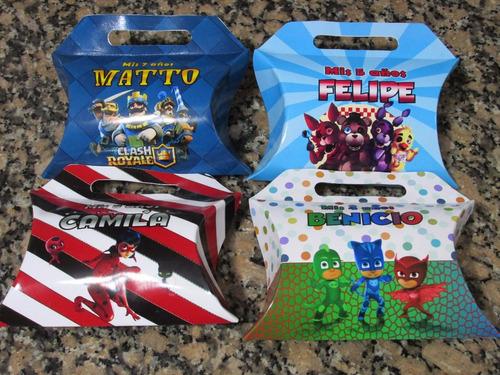 bolsita golosinera cajitas personalizada souvenirs