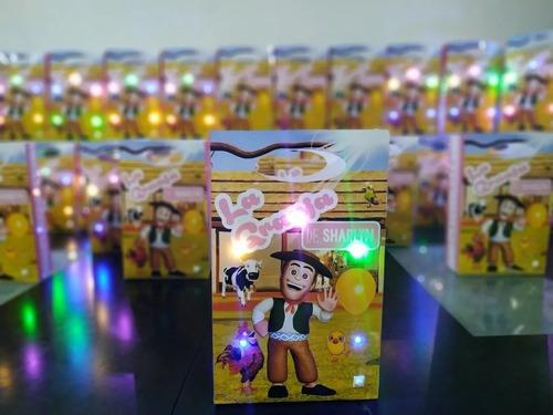 bolsita golosinera personalizada con luces! luminosa x 15 u.