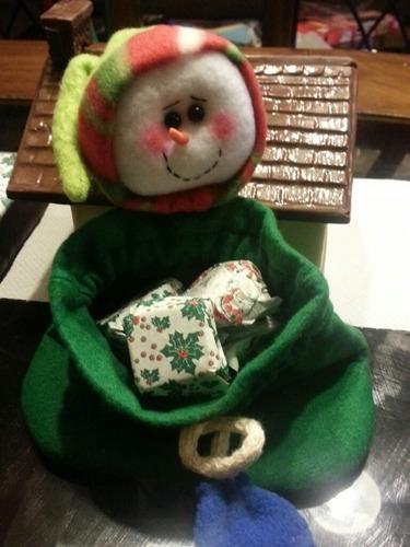 bolsita navideñas de choclate