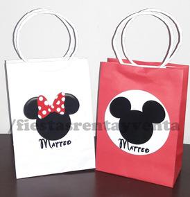 e1eb078bf Bolsitas De Minnie Mouse - Recuerdos, Cotillón y Fiestas en Mercado Libre  México