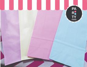 f34e1741a Bolsas De Papel Colores Pasteles - Souvenirs para Cumpleaños ...