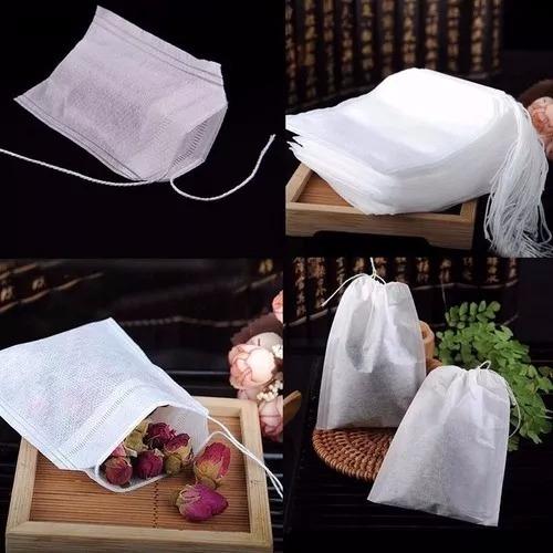 bolsitas bolsas té 1000 vacías infusión hierbas