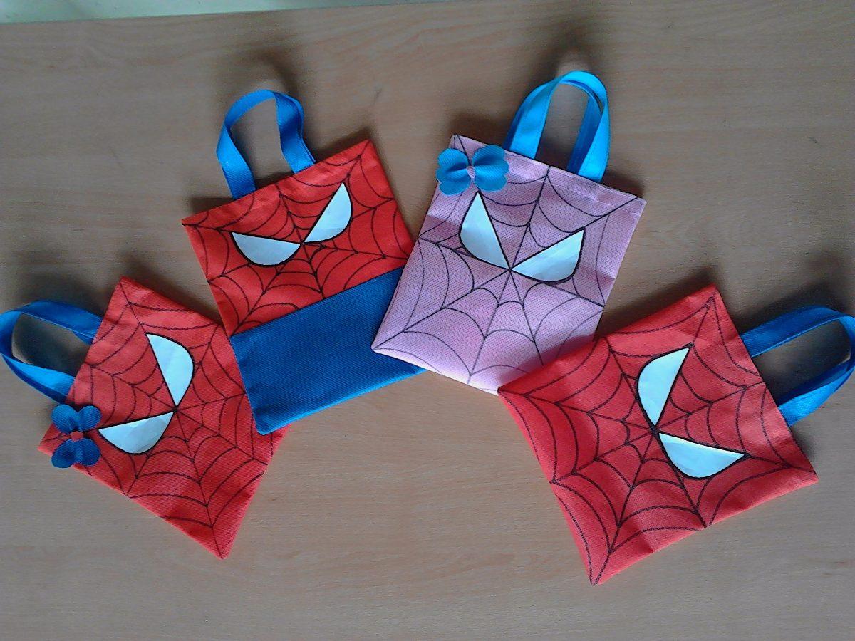 e16423049 bolsitas, cotillones para fiestas infantiles de spiderman. Cargando zoom.