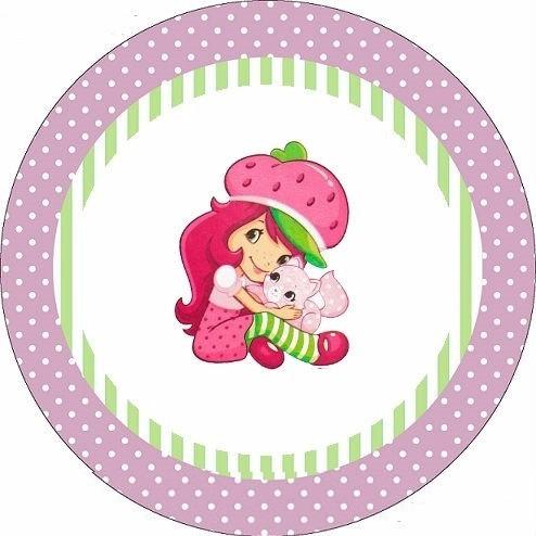 bolsitas cumpleaños personajes tela  princesa frutillitas