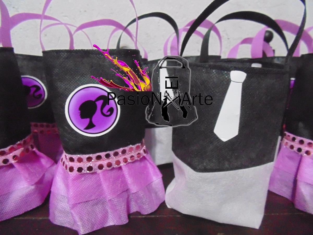 6fff45253 Bolsitas De Cumpleaños De Barbie Y Ken X20u - $ 510,00 en Mercado Libre