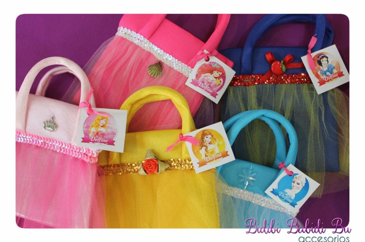 1808b972f Bolsitas De Tela Cumpleaños Souvenirs Princesas - $ 105,00 en ...