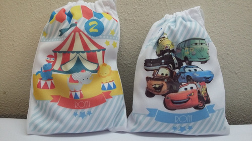 bolsitas de tela estampadas personalizadas + regalo