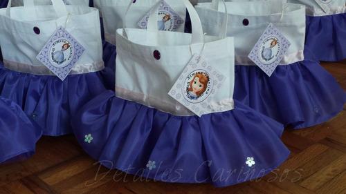 bolsitas dulceros de tutú de princesas
