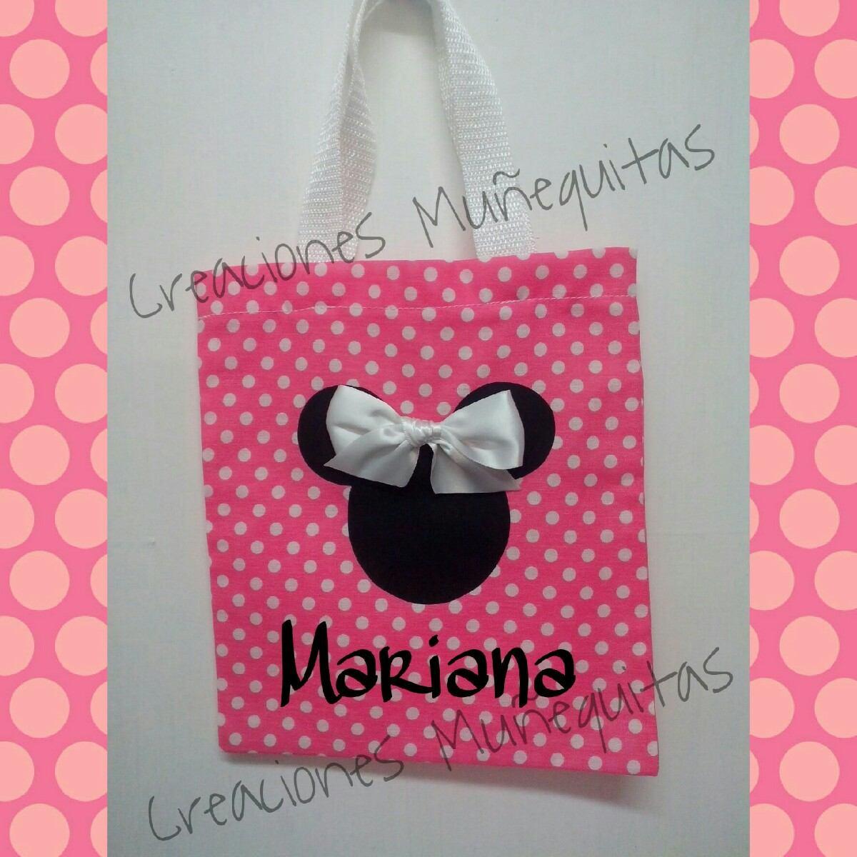Bolsitas Dulceros Mimi Minnie Y Mickey Mouse Piñatas Bolos ...