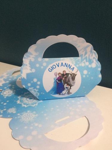 bolsitas golosineras frozen x 10 + kit candy + pick cupcakes