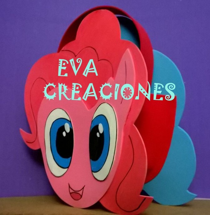 Bolsitas Golosineras My Little Pony En Goma Eva -   17 140ed77209d