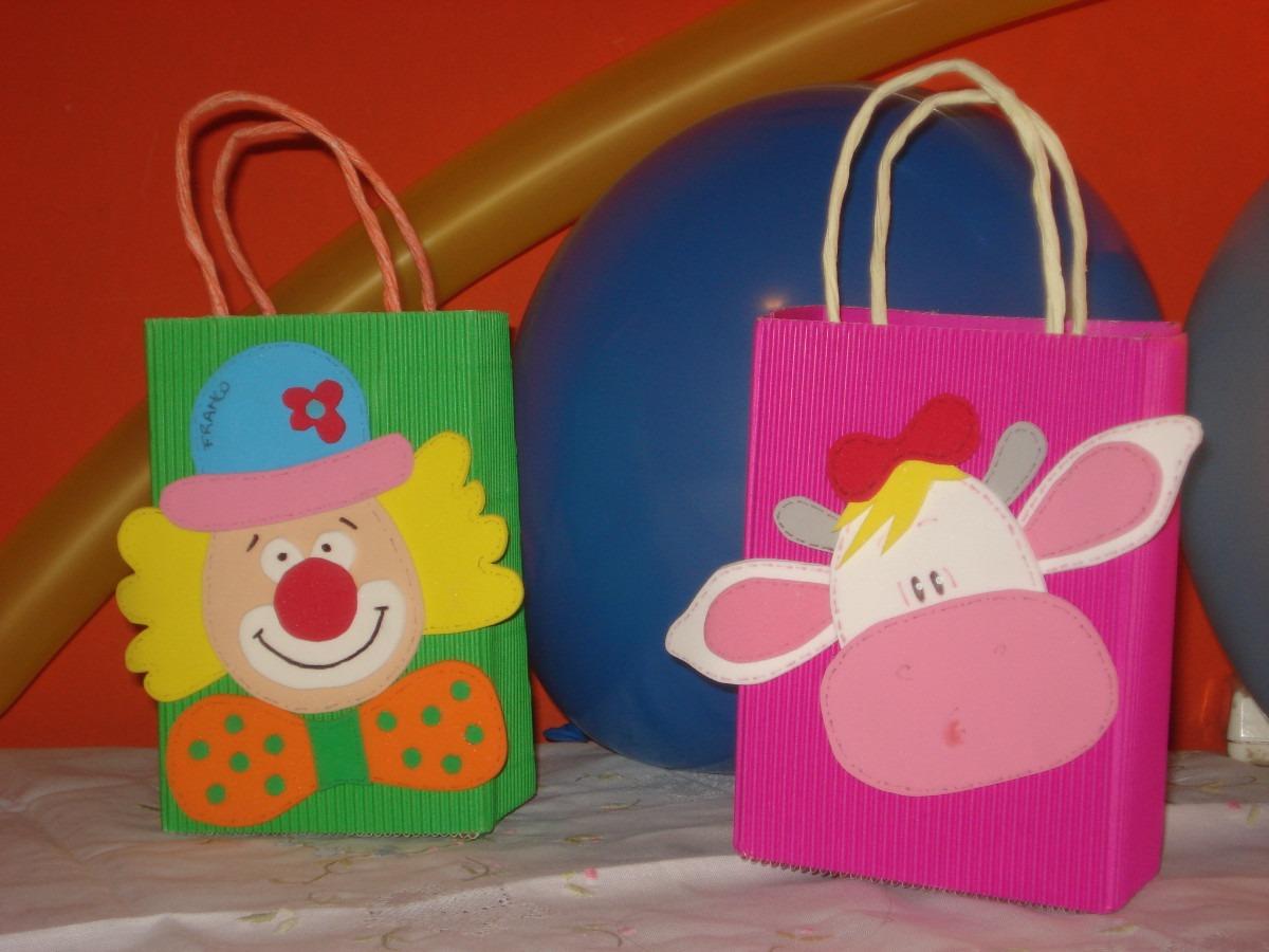 bolsitas golosineras para fiestas infantiles