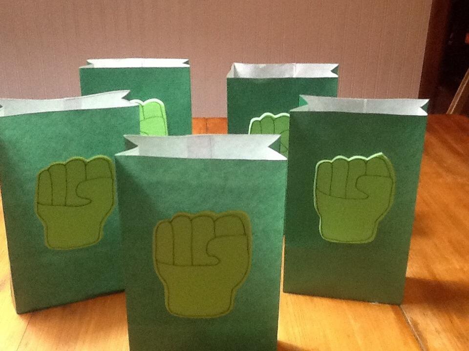 d3a08031d Bolsitas Hulk Artesanales Pack 5 Unid - $ 120,00 en Mercado Libre