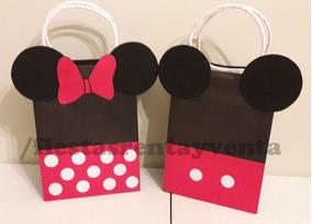 1dfca9171 Bolsas Para Dulces Minnie Mouse - Recuerdos, Cotillón y Fiestas en Mercado  Libre México