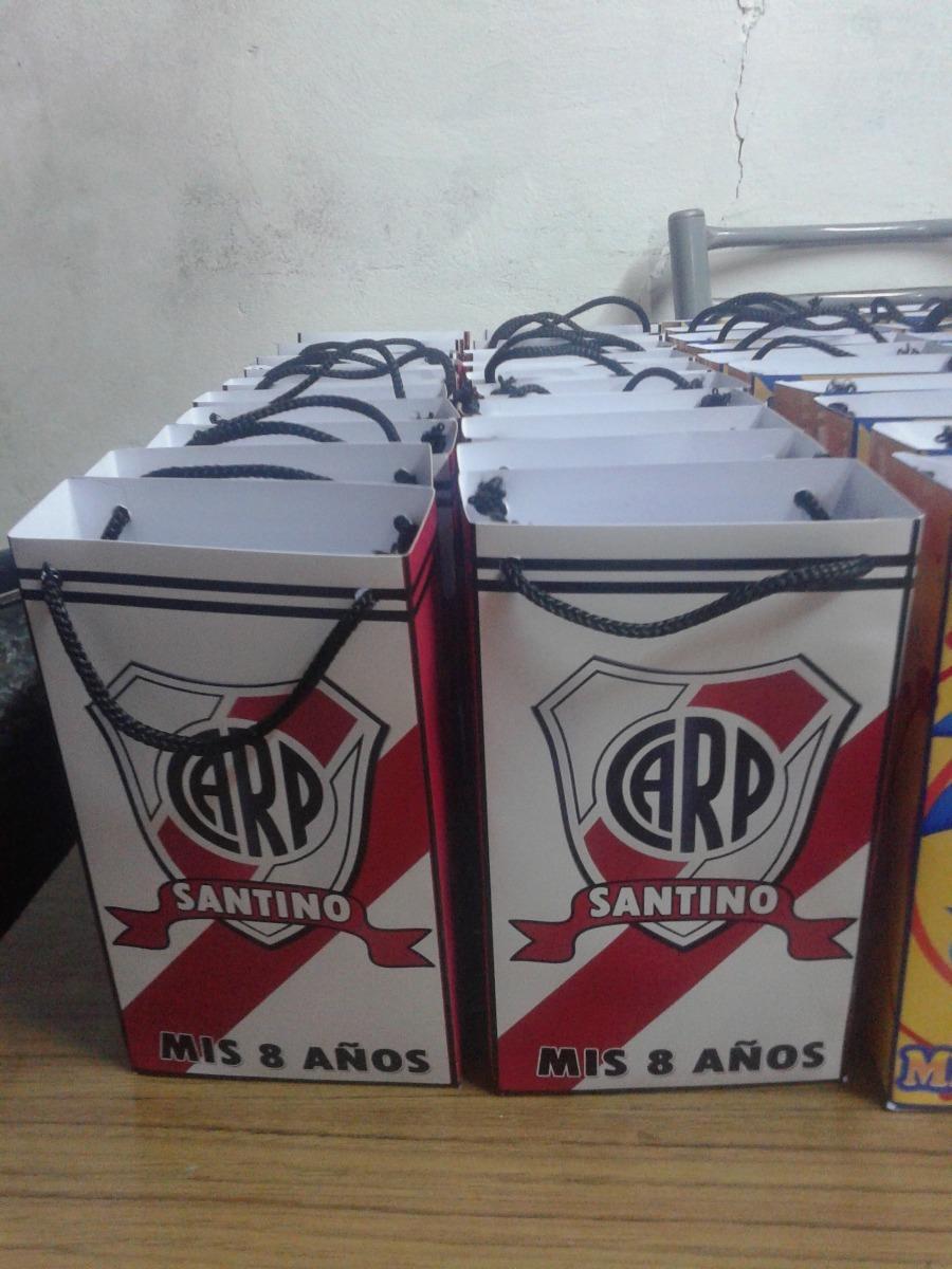 f0224f4cc Bolsitas River Plate - $ 180,00 en Mercado Libre