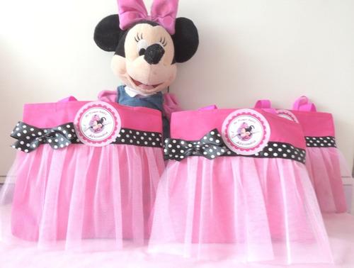bolsitas sorpresas cumpleaños princesas frozen minnie