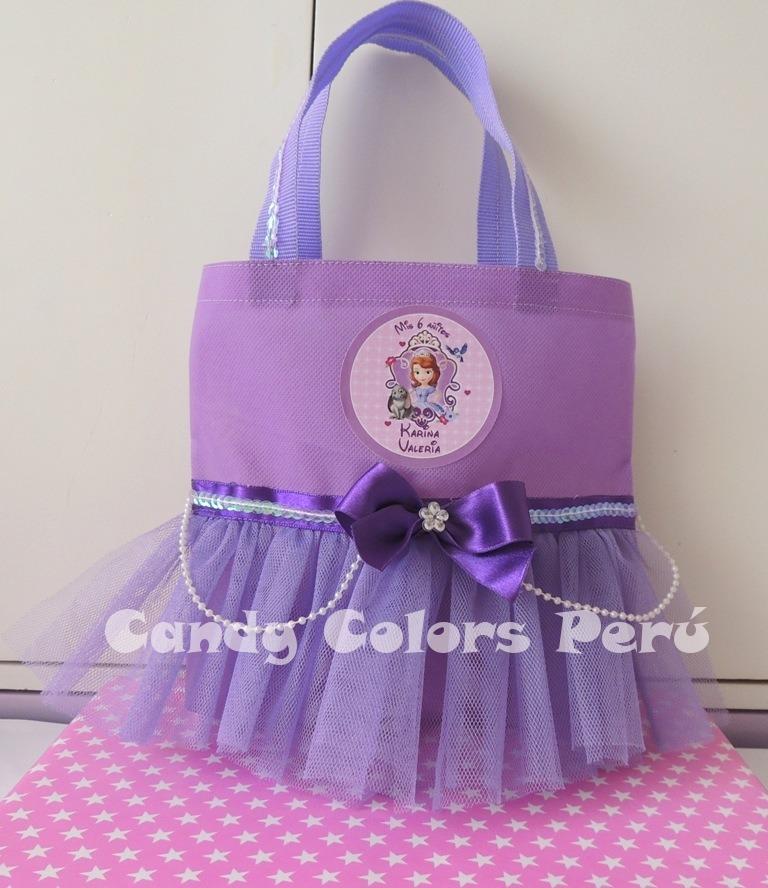 050fa0350 Bolsitas Sorpresas Cumpleaños Princesas Frozen Minnie - S/ 5,50 en ...