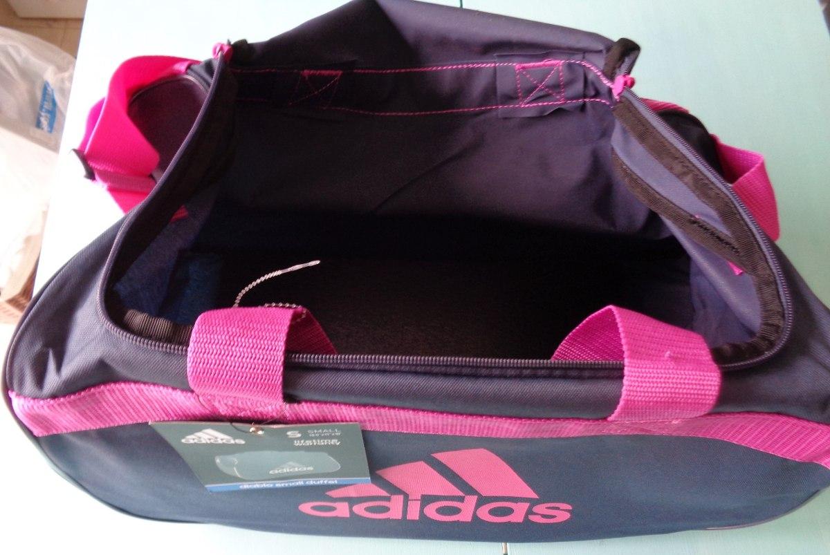 d1ad5d3af Bolso adidas Diablo Mujer Deportivo Gris/rosa - $ 570,00 en Mercado ...