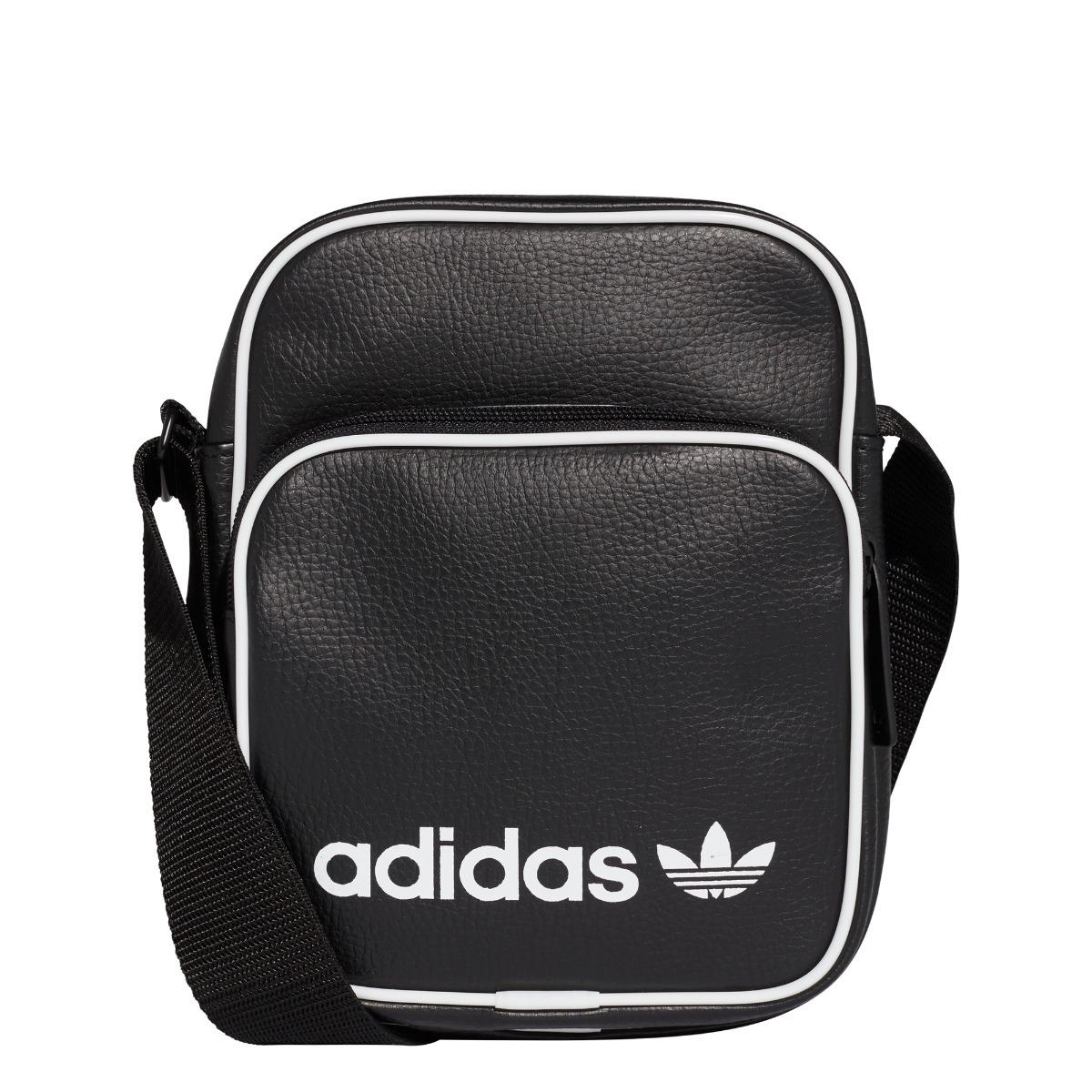 bolso adidas mini vintage negro unisex- originals. Cargando zoom. 6db3039dfc2f6