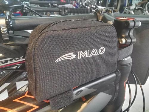 bolso al stem simple para bicicleta mao