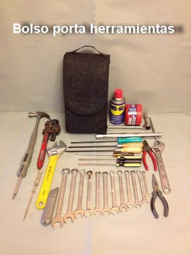 bolso alfombra para llevar todas sus herramientas, $ 5.000