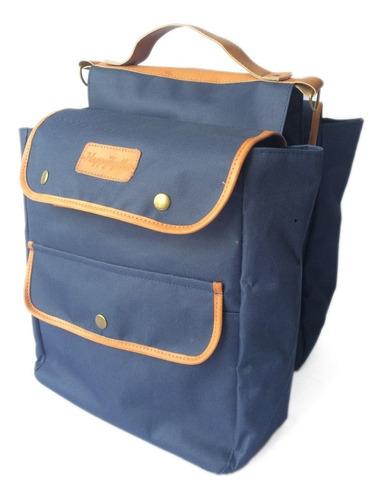 bolso/ alforja bicicleta porta equipaje + manubrio combo