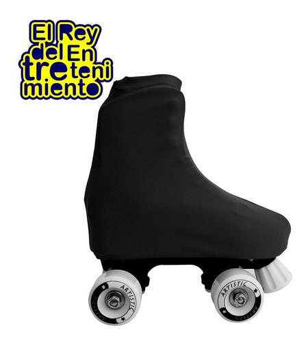 bolso alforja p/ patines + cubrebota lycra colores -  el rey
