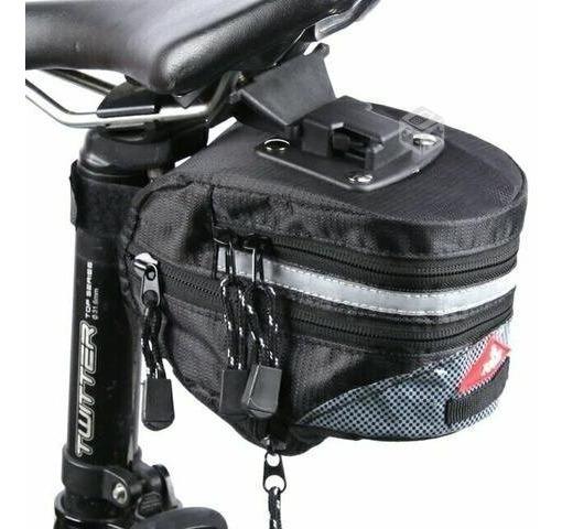 bdadb3414d5 Bolso Alforja Para Bicicleta + Fijaciones Para Sillín - $ 3.590 en ...