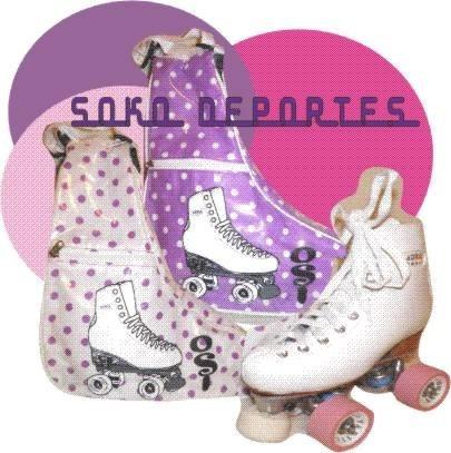 bolso alforja patin artistico roller hockey estampados
