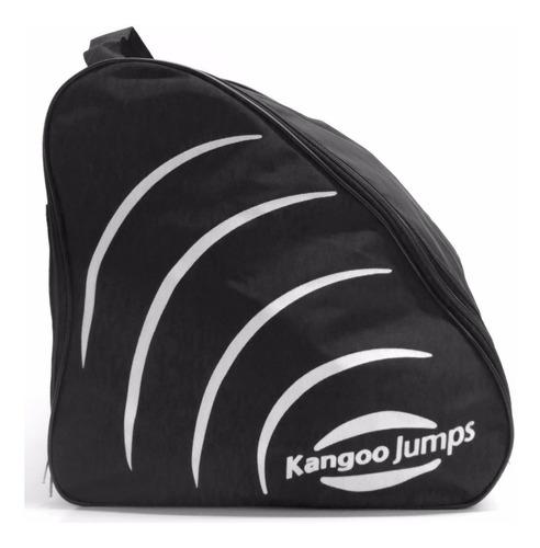 bolso alforja traslado kangoo jumps original fucsia - negro