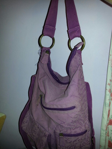 bolso american eagle color morado