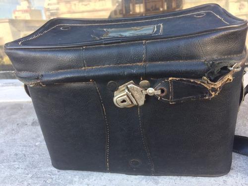 bolso antiguo para artículos fotógraficos
