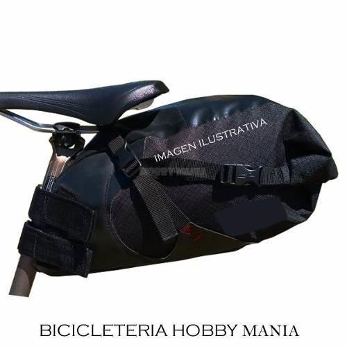 7fffc171596 Bolso Bajo Asiento Bicicleta Gran Extensible Hasta 13 Litros ...