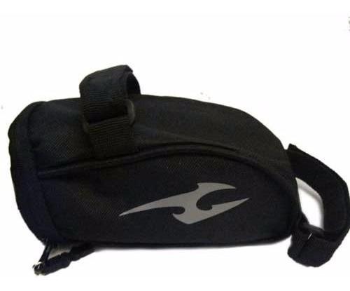bolso bajo asiento exo - resistente al agua - cinta reflex