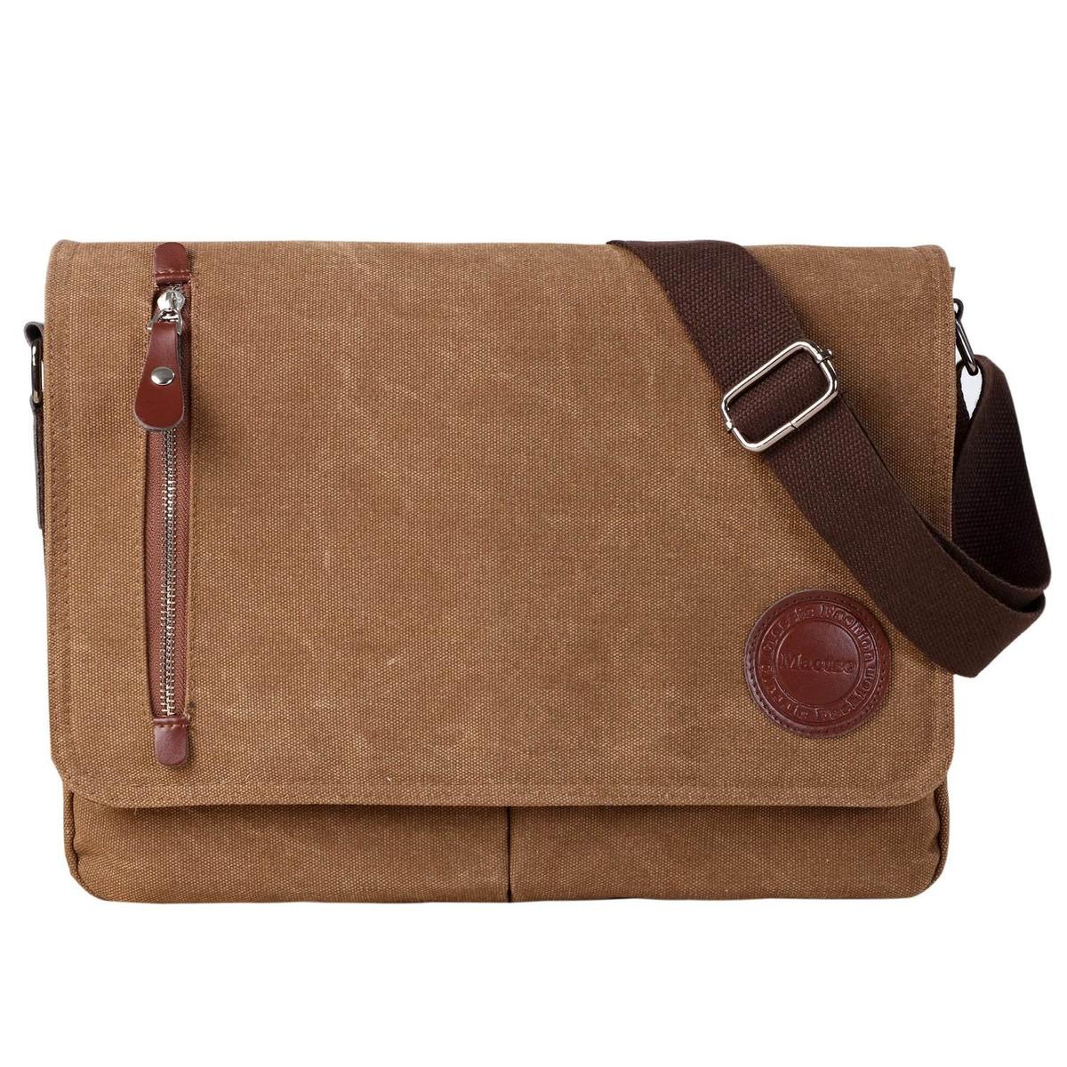 57b87600 bolso bandolera vintage de lona para hombres y mujeres, b. Cargando zoom.