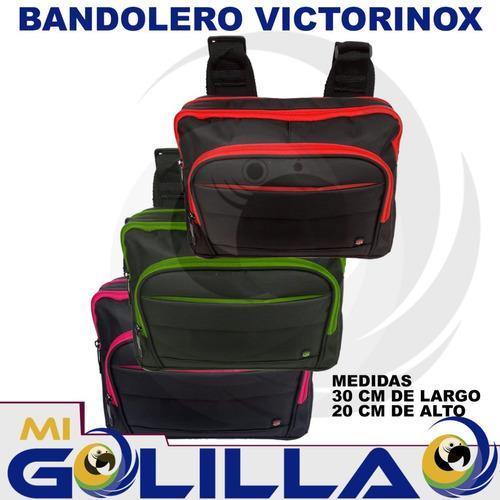 bolso bandolero victorinox para hombres y mujeres mayor